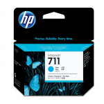 HP Designjet T520 Oryginalny zestaw tuszy CZ134A (HP 711) Niebieski - 3 sztuki