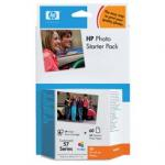 Zestaw HP Q7942AE Photo Starter Pack seria 57 + papier foto