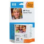 Zestaw HP Q7948EE Photo Starter Pack seria 343 + papier foto