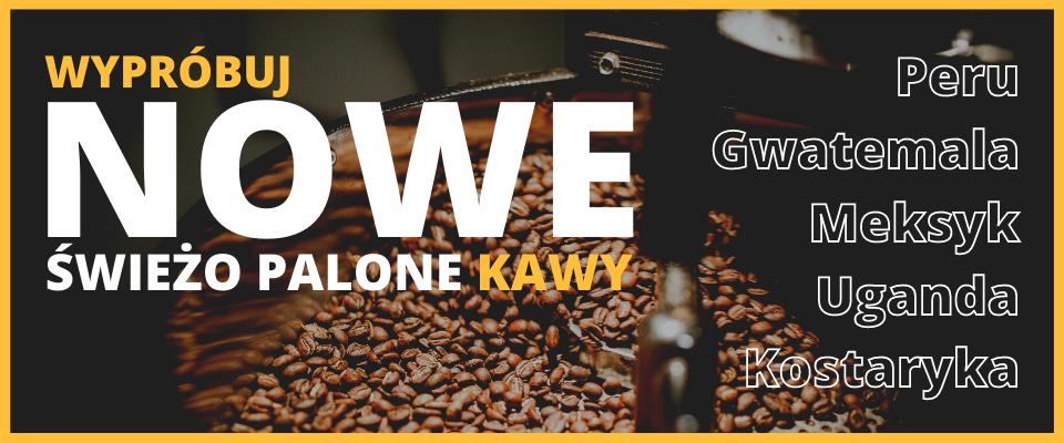 Nowe Świeżo Palone Kawy